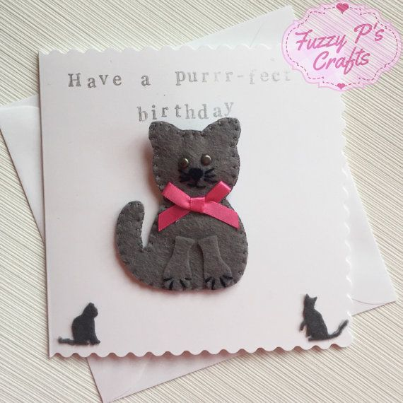 Gifts for Cat Lovers by Frances Bell on Etsy