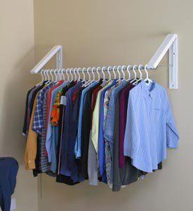 #laundry Arrow Hanger AH3X12 Quik Closet Clothes Storage System: Home & Kitchen | Amazon.com