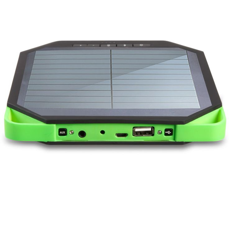 The Portable Solar Powered Speaker - Hammacher Schlemmer