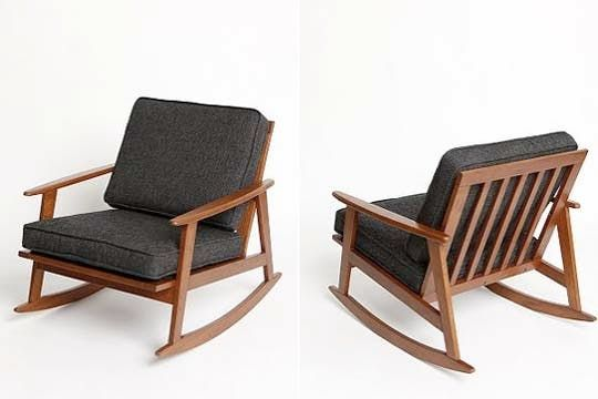 Affordable Mid-Century Style Rocker  Mid century style and Rockers
