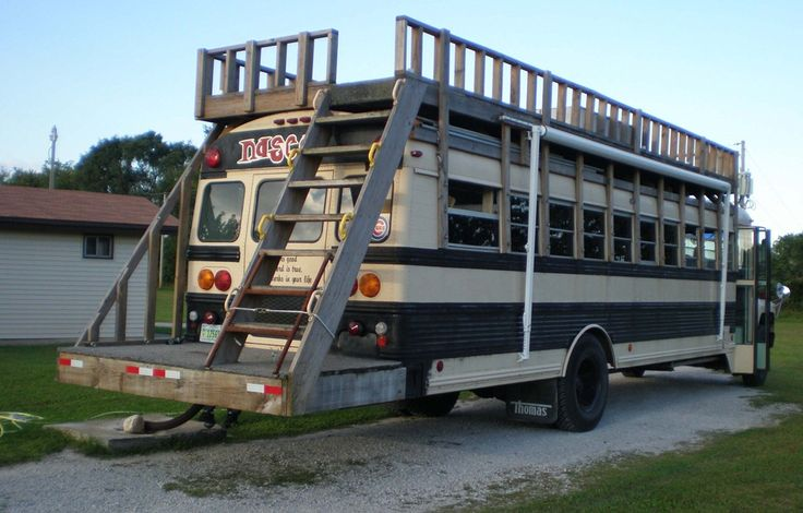 bus conversion | Some of the bus converters can get pretty creative.