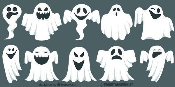 283 best halloween images on pinterest lantern for Fantasmi disegni da colorare