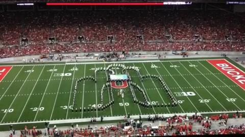 Michigan is melting: Ohio State marching band performs tribute to 'The Wizard of Oz' | cleveland.com