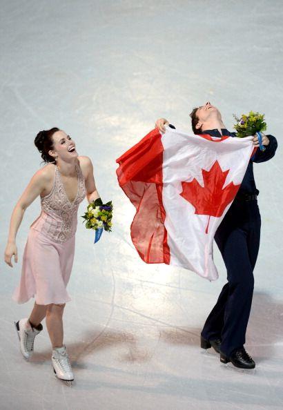 Tessa Virtue and Scott Moir - Silver Medallists Ice Dance - Sochi 2014.
