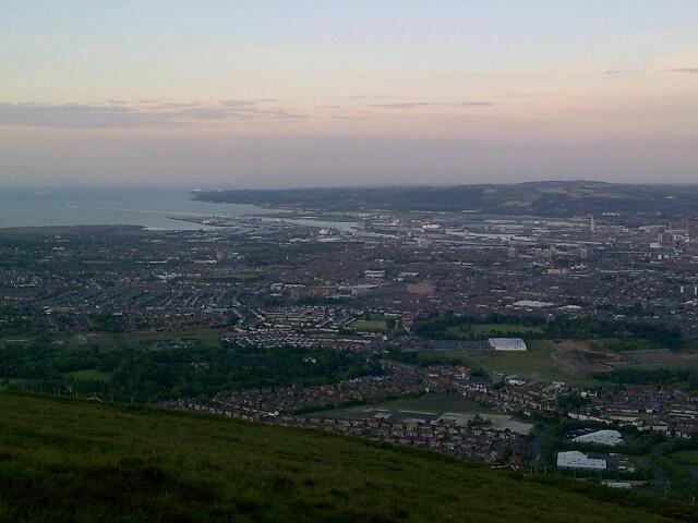 Belfast ... From black mountain