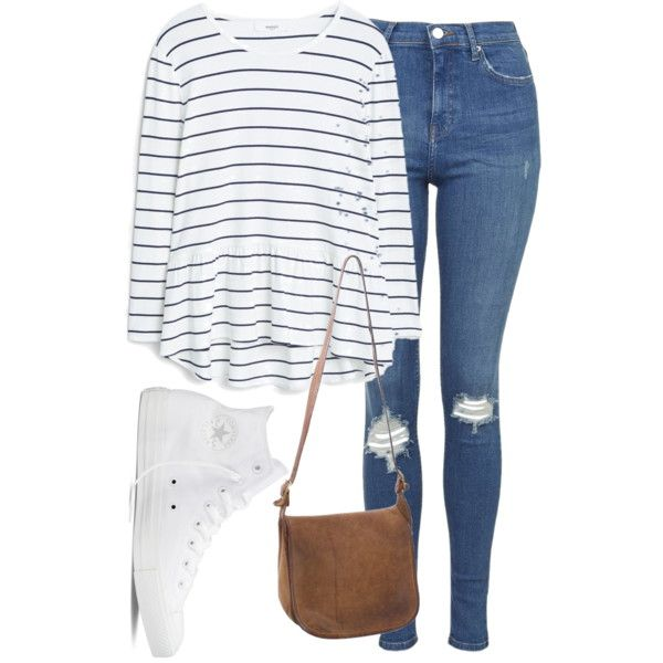 Untitled #1225 by chaoticaphrodite on Polyvore featuring MANGO, Topshop, Converse and Coach