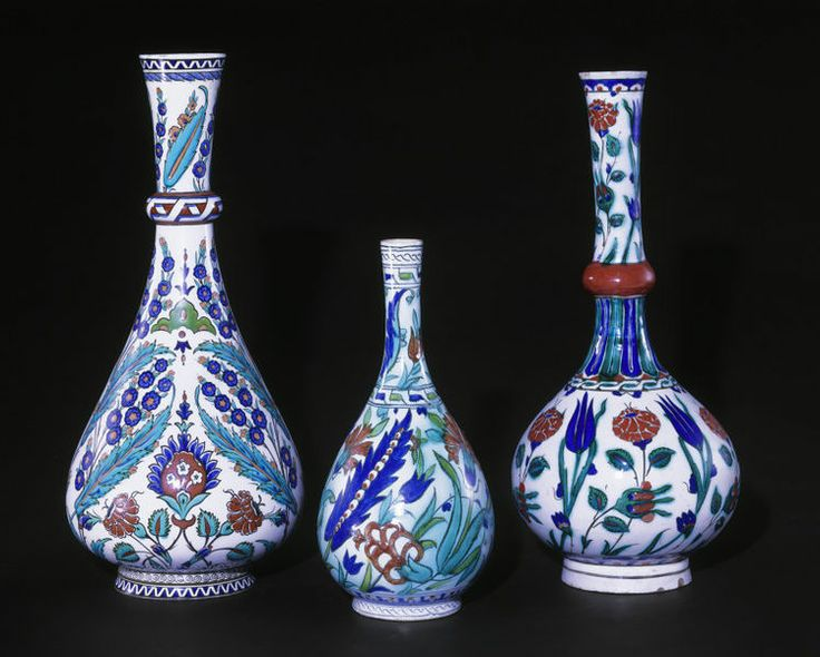 Bottle      Place of origin:      Iznik, Turkey (probably, made)     Date:      1575-1580 (made)