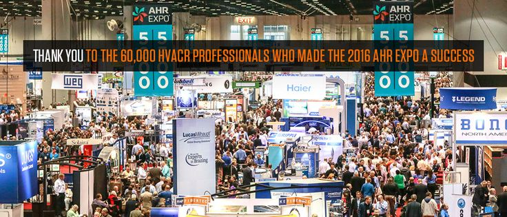AHR 2016 - Orlando  My Takeaways AHR Orlando was an extremely well attended event.  The web site http://www.ahrexpo.com/ shows over 60,000 folks attended