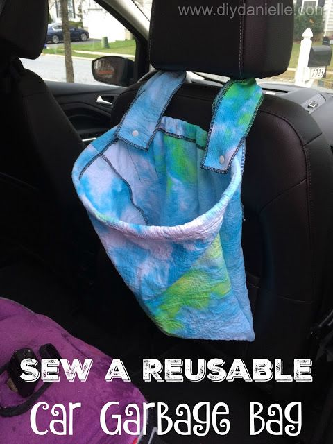 How To Make A Reusable Garbage Bag For Your Car Bags