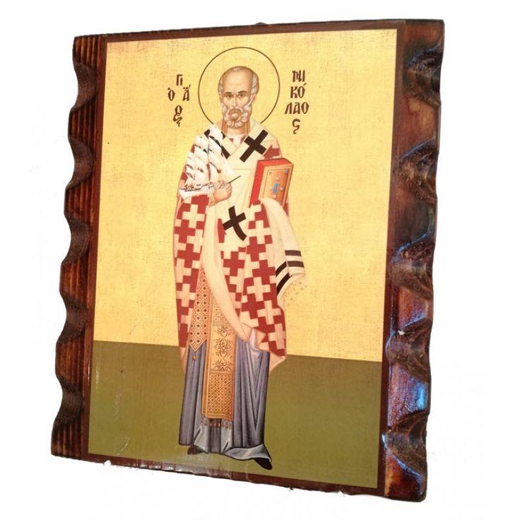 Άγιος Νικόλαος Αρχιεπίσκοπος Μύρων της Λυκίας, ο Θαυματουργός+