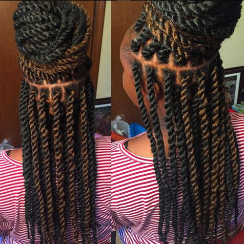 17 Best Images About Long Kinky Twists On Pinterest