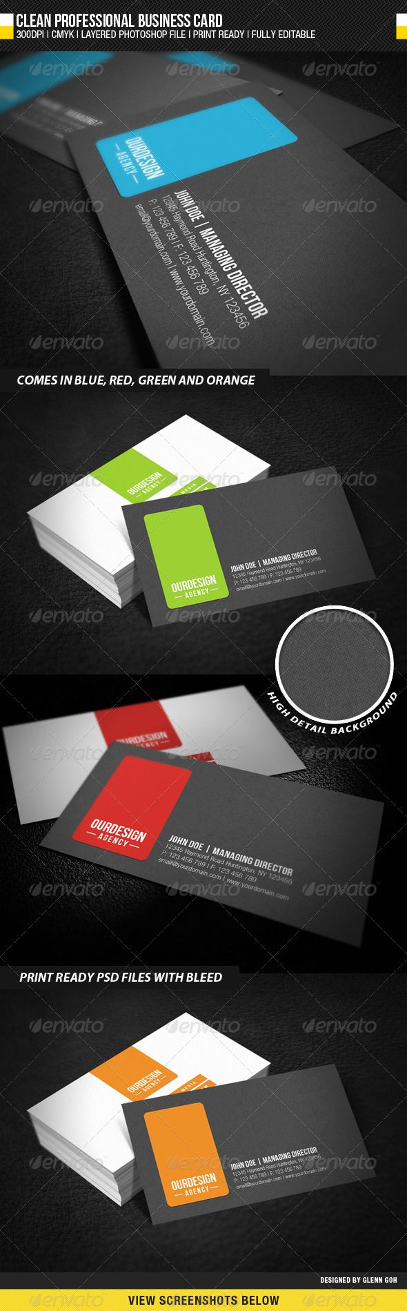 131 best name card business images on pinterest architecture clean professional business card magicingreecefo Choice Image