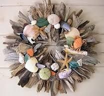 Image result for drift wood wreath ideas