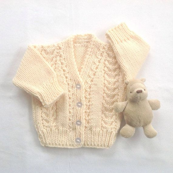 Hey, I found this really awesome Etsy listing at https://www.etsy.com/listing/275501898/baby-cardigan-6-to-12-months-baby-shower