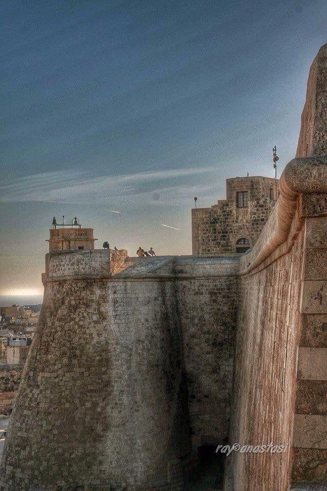 Citadella, Rabat - Gozo, Malta. Malta's sister island's capital.