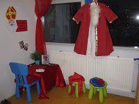Locatie Reitdiep onderbouw: De werkkamer van Sinterklaas