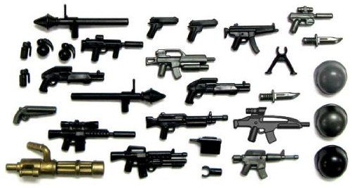 BrickArms 2.5 Scale Modern Assault V2 2012 Weapons Pack [Toy]