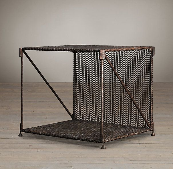 1920s French Metal Side Table Home Super Sweet Home Pinterest