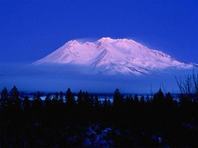 Гора Шаста,США