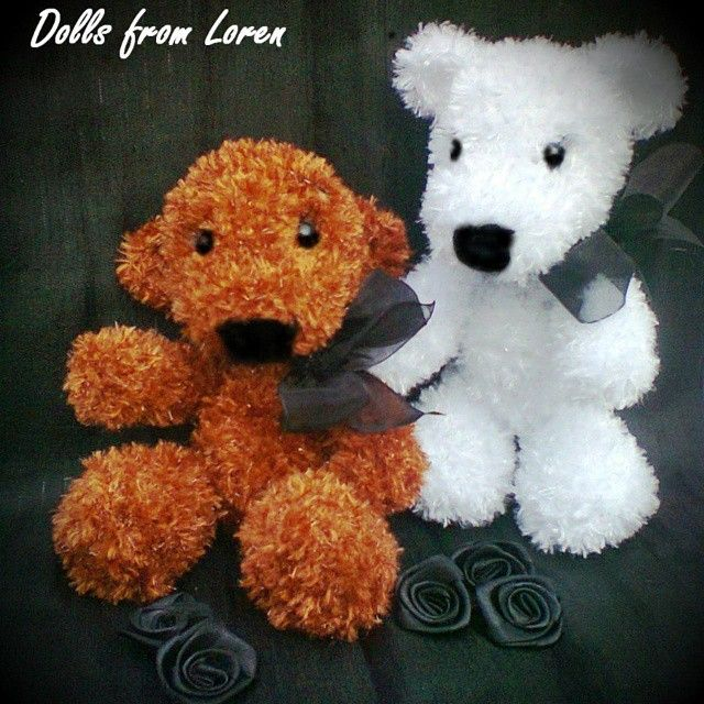 #teddybears #crochet_toy