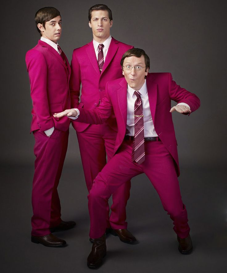 Andy Samberg, Akiva Schaffer, and Jorma Taccon of The Lonely Island