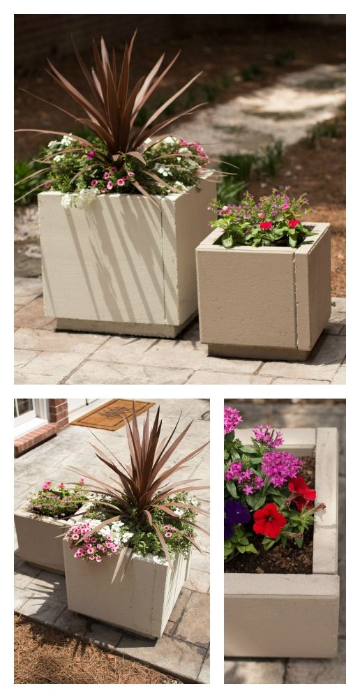 120 best diy flower pots/planters images on pinterest | gardening ... - Patio Planters Ideas