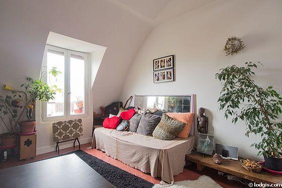 Location meublée studio - Boulevard Richard Lenoir Paris 11°