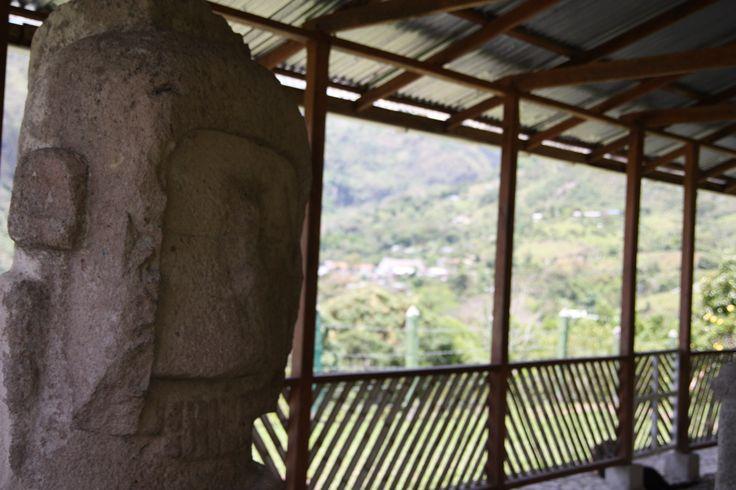 Sculptures in Tierradentro.