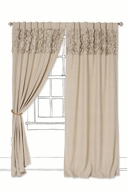 Upward Petals Curtains