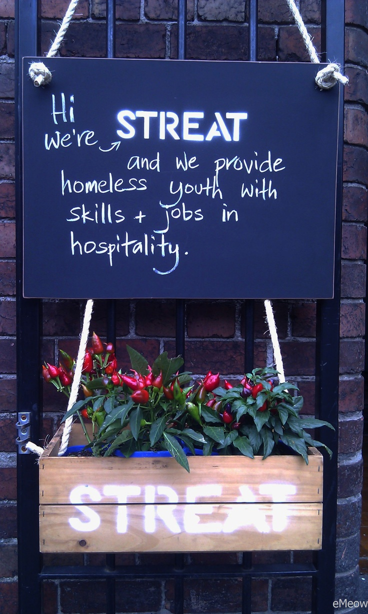 "STREAT Melbourne - ""Stop homelessness the delicious way""  @STREATmelbourne   http://streat.com.au/about"