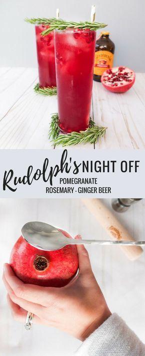 Rudolph\u0027s Night Off Recipe Cocktails/drinks/Martinis Pinterest