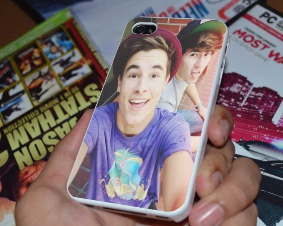 Kian Lawley and Jc Caylen Case for iPhone 4/4S by ncklovecase, $14.89