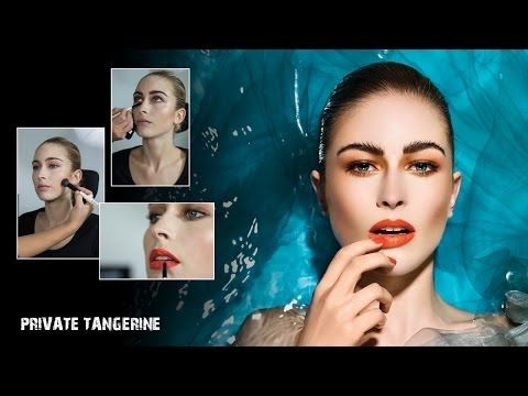 Makeup Tutorial 'Private Tangerine' by Make-up Studio