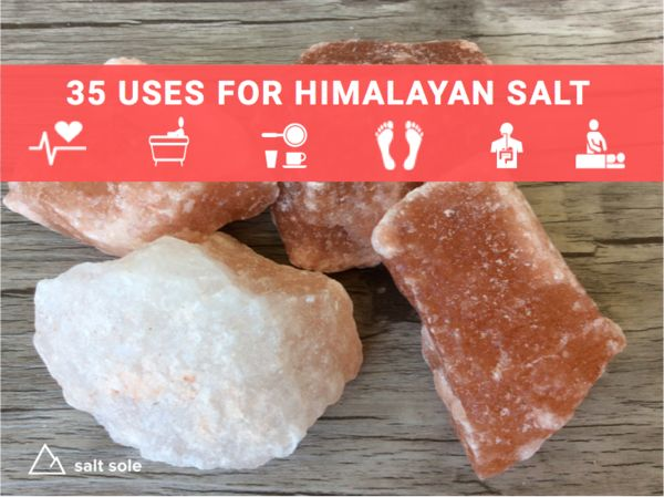 We had no idea that there were so many ways that you could use himalayan pink salt until we started learning about himalayan salt sole and the benefits of himalayan salt sole . We are so excited to share this with you. We hope to inspire you to make steps towards healthy changes.