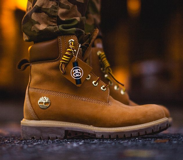 timberland on foot