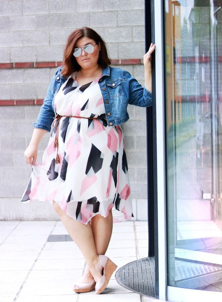 Büro taugliches Sommer-Outfit · CONQUORE · The Fatshion Café  summer look plus size