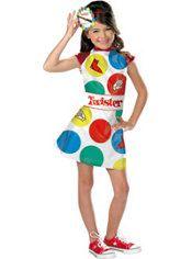 Girls Cutie Twister Costume