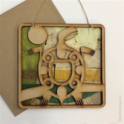 Turtle - Greeting Card/Wall Art by Shirley Lloyd-Davies, Dundee Designs Inc.