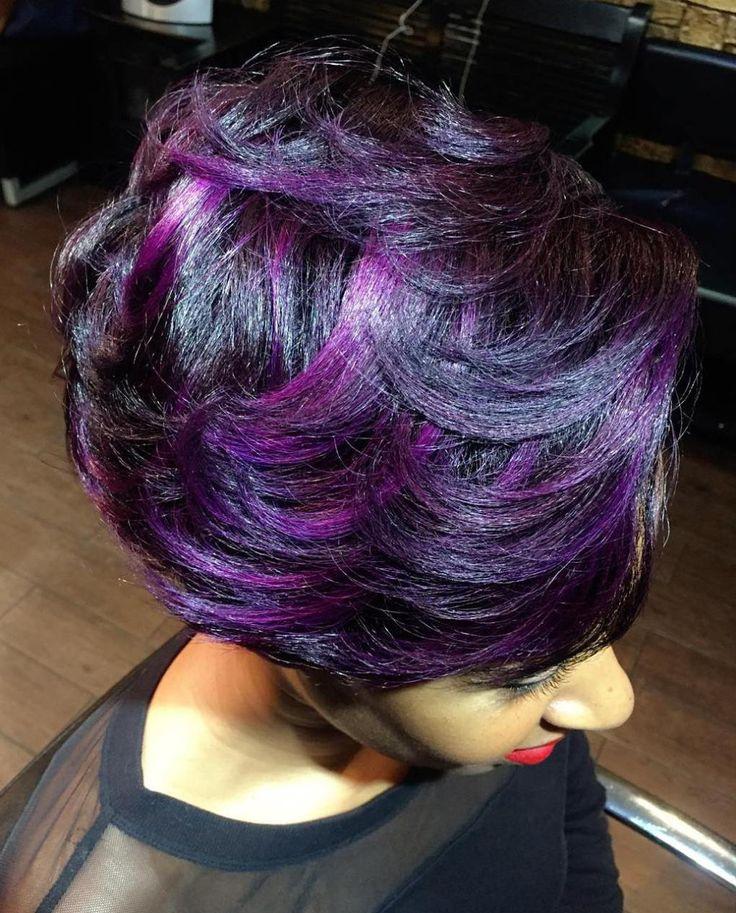 The 25 best dark purple highlights ideas on pinterest dark hair the 25 best dark purple highlights ideas on pinterest dark hair purple highlights violet hair and purple balayage pmusecretfo Images