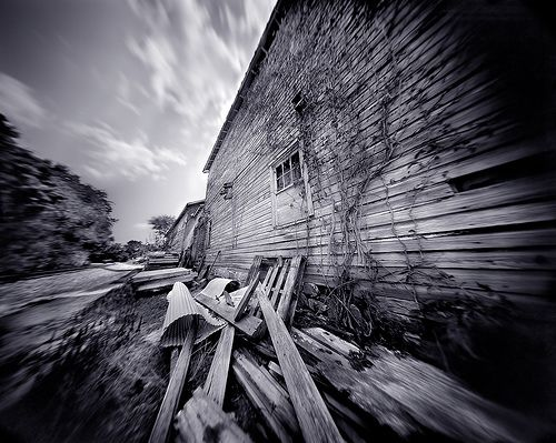 Old Barn, a 4x5 Film Pinhole Photograph by integrity_of_light, via Flickr