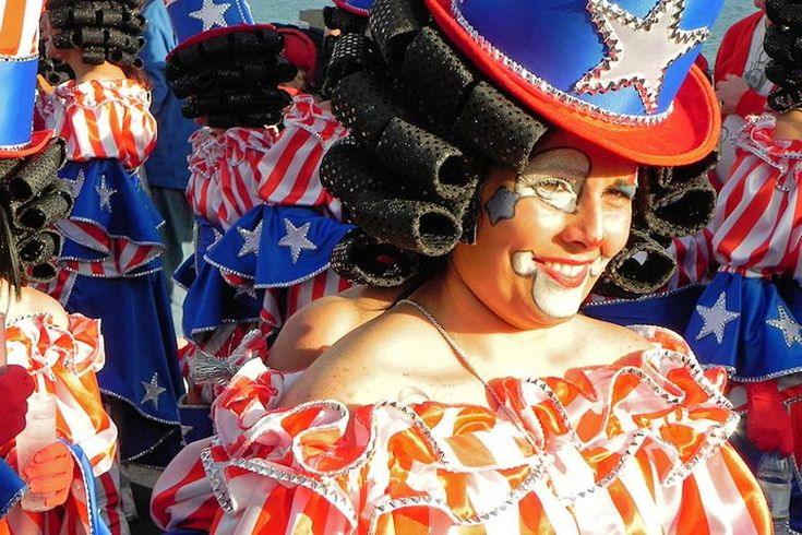 Carnival time in Lanzarote | #Lanzarote festivals and popular fiestas | Weather2Travel.com #travel #holiday #festival