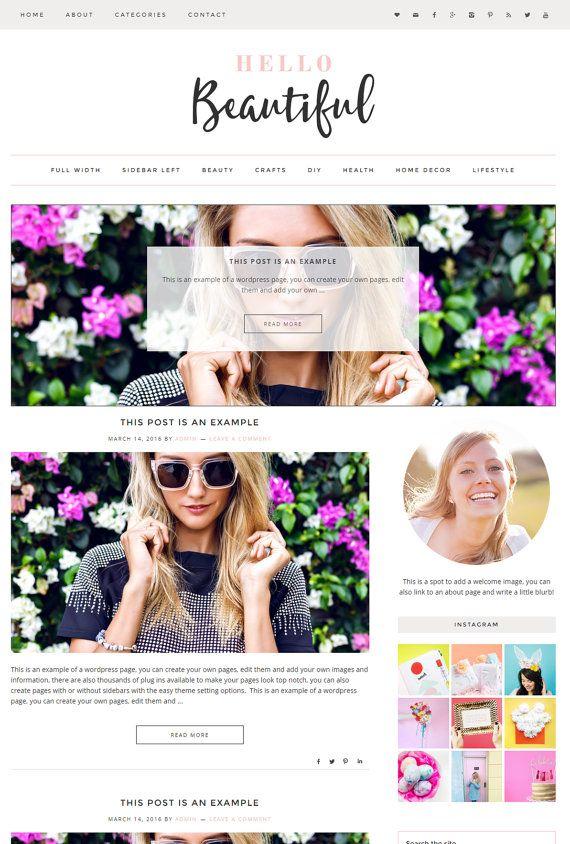 161 best WordPress Designs images on Pinterest | Design websites ...