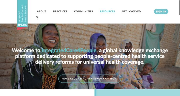 The IntegratedCare4People web platform was launched in May 2016 to support the implementation of the WHO Framework on integrated people-centred health services. The web platform is a global network that supports knowledge exchange and interaction among stakeholders on the five strategies proposed by the Framework.