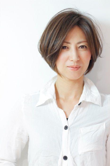 40代の方におすすめ大人ショートボブスタイルhttp://www.hairmake-chou-chou.com/haircatalog/image/31/