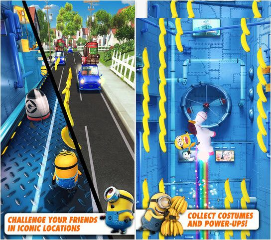 Gameloft's mobile game based on the hugely popular Despicable Me franchise was released on the App Store today. Despicable Me: Minion Rush, announced last week is an endless runner much like Temple Run or Subway Surfers.