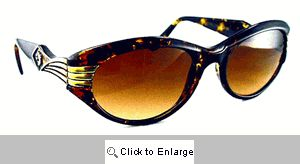 Celeste Silver Screen Sunglasses - 410 Demi
