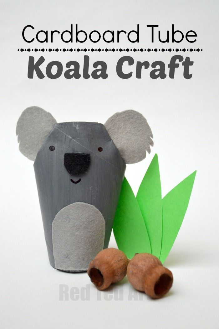 Toilet Paper Roll Crafts for Kids - we are exploring the ABC with this K for Koala TP Roll Craft. Just too cute. Love TP Rolls, Love Koalas. The perfect combination. Great TP Roll Animal DIYs on this page. Check out the TP Roll Koala today!