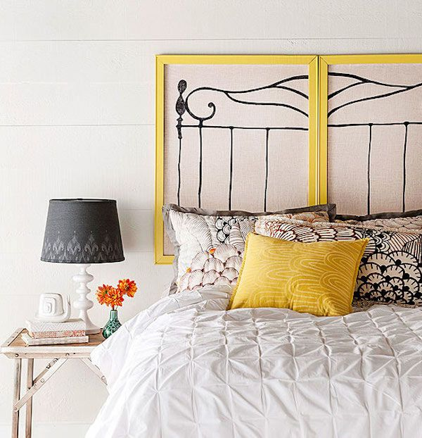 1000 ideas about handmade headboards on pinterest for Cool headboards