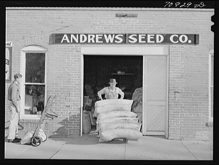 Photogrammar Andrews Seed Company In Ontario Oregon Russell Lee Fsa Photo 1941 Southern Illinois University Us History Carbondale