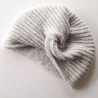 Tricoter un turban en laine / diy tricot